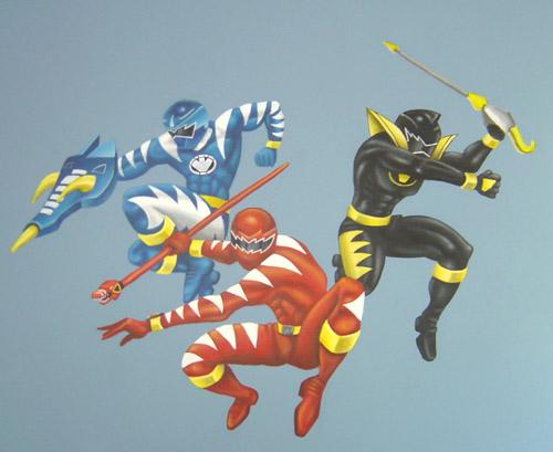 Power Rangers Mural Part 84