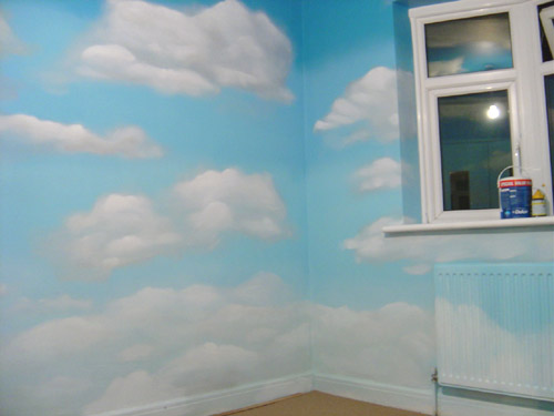 Inspire murals for Cloud wallpaper mural
