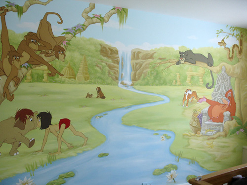 Junglebook Wall Mural