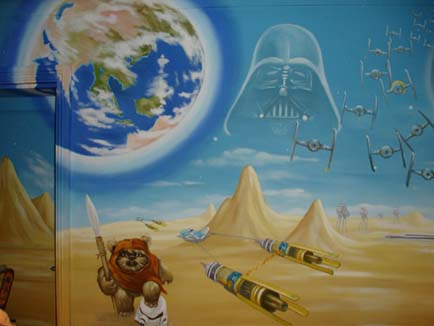 Star Wars Bedroom on Star Wars